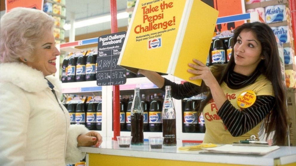 Remember the Pepsi Challenge?